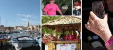Présentation du nouveau Jeu de Bulles 2015 à l'occasion du Just-Rosé 3 Sanary